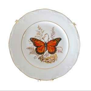Monarch Butterfly Vintage Regent plate with hanger